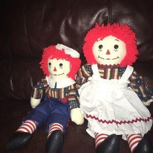Patriotic Dolls